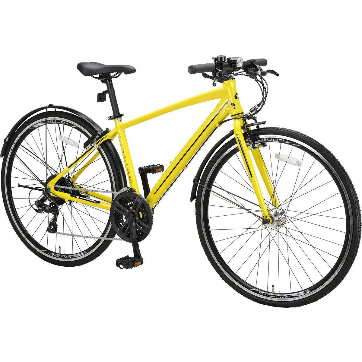 自転車・サイクリング, クロスバイク (CAPTAIN STAG) L70021AT482 YEL YG-1284