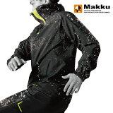 マック(Makku) LIGHT BIZ RAIN JACKET(ライトビズ レインジャケット) 4L ブラック AS-920