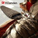 最大2000円クーポン有 Hilander(ハイランダー) ダウンシュラフ 600 600g カーキ HCA0277