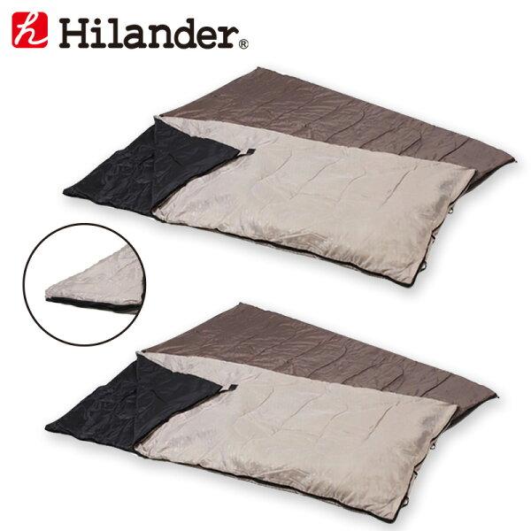 Hilander(ハイランダー)2in1洗える3シーズンシュラフ(5℃&15℃対応) お買い得2点セット UK-7