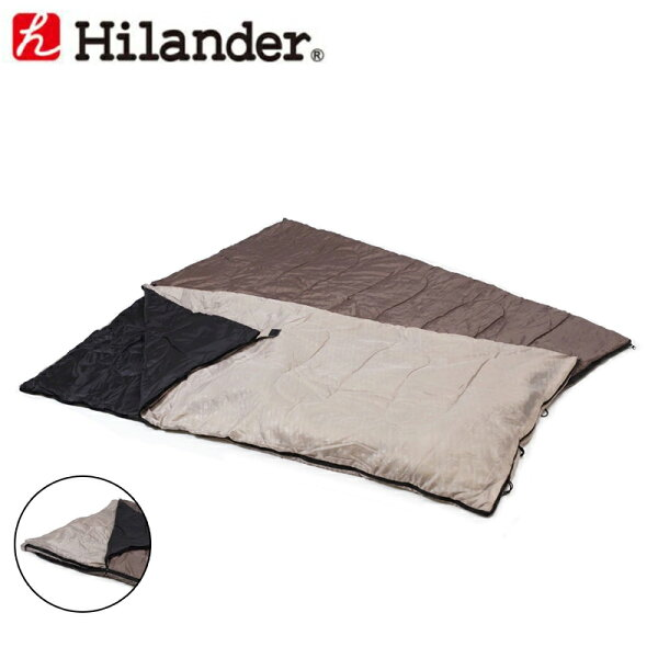 Hilander(ハイランダー)2in1洗える3シーズンシュラフ(5℃&15℃対応)3シーズンUK-7