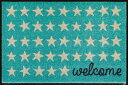 Enter+Exit Welcome Stars 50 x 75 A0...