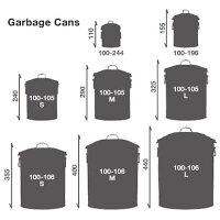 MICROGARBAGECANORANGE/100-244ORマイクロガベージカンゴミ箱収納DULTON(ダルトン)