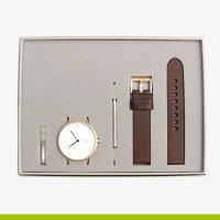 INSTRMNT(インストゥルメント)01-BRG/B102【ピンクゴールドxブラウン】腕時計時計ウォッチ
