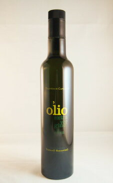トンマーゾ・マッシャントニオ エキストラヴァージン・オリーブオイル 500ml  TOMMASO MASCIANTONIO olio extra vergine di oliva