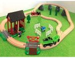 数量限定の大容量セット!ブリオBRIO木のおもちゃカントリーレールセット2木製/知育玩具/クリスマス