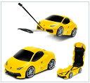 RIDAZ (ライダース) 車型 キャリーケース ランボルギーニ ウラカン Lamborghini Huracan(イエロー)659230
