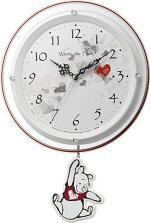 振り子時計くまのプーさん8MX407MC03