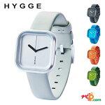 HYGGEヒュッゲVariウォッチ腕時計北欧デザインミニマルホワイトグレーブルーオレンジグリーン送料無料