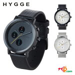 HYGGEヒュッゲ2204シリーズウォッチ腕時計北欧デザインファッションミニマルブラックホワイトシルバー送料無料