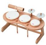 知育楽器【ドラムセットRP-940/DS】リズム・ポコRhythmpocoドラム打楽器