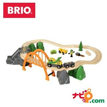 ブリオ BRIO 木のおもちゃ ランバーレールセット 33789 木製/知育玩具/レールトイ