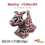 MonicaRichardsLondonモニカリチャードロンドンハンドメイドのアニマルドアストッパークラシックドッグBigDooユニオンジャックインテリア雑貨イギリス雑貨英国