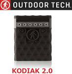 OUTDOORTECH【国内正規品】KODIAK2.0Black/防水6000mAh防塵耐衝撃充電器モバイルバッテリーライト付きコディアック2.0ブラックOT2600-B