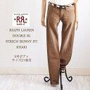 【SALE】【RRL by Ralph Lauren】ラルフローレンDOUBLE RL ダブルアールエル STRECH SKINNY FIT ストレッチカラージーンズ/KAHKI