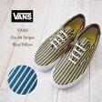 【VANS】 バンズ バンズ ERA 59 STRIPES エラ ストライプ/YELLOW/BLUE