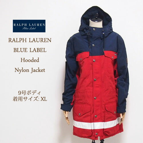 【SALE】【OUTLET】【SALE】【BLUE LABEL by Ralph Lauren】ラルフローレン ブルーレーベル マウンテン パーカー/RED【】