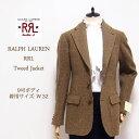 【SALE】【RRL by Ralph Lauren】 ラルフローレン DOUBLE RL ダブルアールエル ツイードジャケット【あす楽対応】