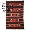 【ORTEGA'S】オルテガ チマヨ BIG ラグ マット Selena Serrano/135×215/BROWN