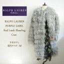 ラルフローレン パープルレーベル レディース リアル ラム ファー コート/シルバーグレーPurple Label by RalphLauren Coat