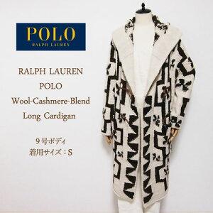 Ralph Lauren Polo Ladies Wool Cashmere Knit Duffle Coat Long Cardigan POLO by Ralph Lauren Knit Cardigan