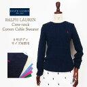 【SALE】【BLUE LABEL by Ralph Lauren】ラルフローレン ブルーレーベル クルーネック コットンセーター/16色【あす楽対応】