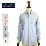 【メール便送料無料!】【SALE】ラルフローレン レディース カスタムフィット オックスフォード ボタンダウン シャツRalph Lauren Oxford Shirts Custom Fit