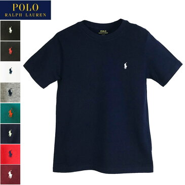 【メール便送料無料】 ポロ ラルフローレン キッズ ボーイズ サイズ クルーネック 半袖 Tシャツ POLO Ralph Lauren レディース メンズ 対応サイズ