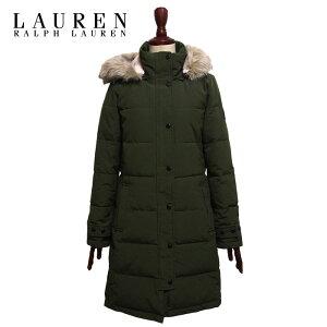 Ralph Lauren Lauren Women's Batting Quilted Coat Jacket/Green LAUREN Ralph Lauren Coat