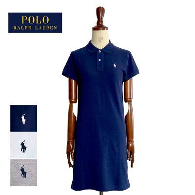 【メール便送料無料】ポロ ラルフローレン レディース ポニー ワンポイント メッシュミニ ポロワンピース POLO Ralph Lauren THE MESH MINI Polo Dress