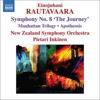 ラウタヴァーラ:交響曲第8番「旅」他