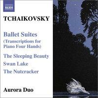 チャイコフスキー:ピアノ4手連弾のためのバレエ編曲作品集