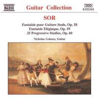 ソル:25の初級練習曲Op.60/悲しみのファンタジアOp.59/ギター独奏のための幻想曲Op.58