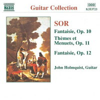 ソル:幻想曲第3番Op.10/2つの主題と変奏および12のメヌエットOp.11/幻想曲第4番Op.12