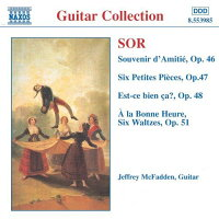 ソル:幻想曲「友情の思い出」Op.46/6つの小品Op.47/6つの小品「これでいい?」Op.48/奇想曲「静けさ」Op.50/6つのワルツ「ついに!」Op.51/「純潔」小さな夢想