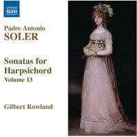 ソレル(1729-1783):ハープシコード・ソナタ全集第13集