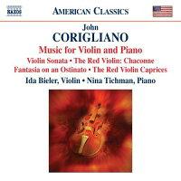 コリリアーノ:ヴァイオリンとピアノのための作品集