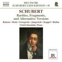 シューベルト:ドイツ語歌曲全集35希少作品、断章、違稿版集