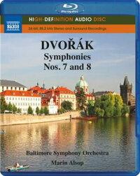 ドヴォルザーク(1841-1904):交響曲第7番&第8番[Blu-rayAudio]