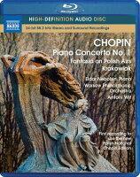 ショパン(1810-1849):ピアノ協奏曲第1番他[Blu-rayAudio]