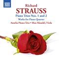 R.シュトラウス:ピアノ三重奏曲 第1番第2番 他