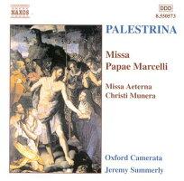 パレストリーナ:教皇マルチェルスのミサ/ミサ曲「エテルナ・クリスティ・ムネラ」