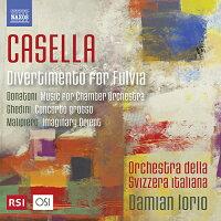 20世紀のイタリア音楽集カゼッラ/ドナトーニ/ゲディーニ/マリピエロ