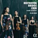 ベートーヴェン、ブリッジ:弦楽四重奏曲
