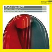 ハイドン: 弦楽四重奏曲第81番 Op.77-1/ メンデルスゾー...
