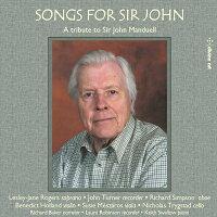 サー・ジョンのための歌W.B.イェイツに触発された作品集