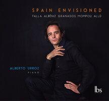 SPAINENVISIONEDスペインのピアノ曲集