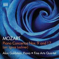 モーツァルト(ラハナー編):ピアノ協奏曲第9番&第17番