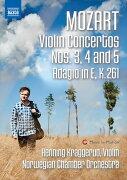 モーツァルト: ヴァイオリン協奏曲 第3番-第5番/ アダージョ ...