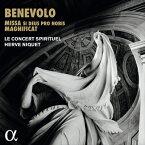 ベネヴォロ(ベネヴォリ):16声のミサ〜17世紀ローマの多重合唱〜[SACD-Hybrid, 日本語解説付き]